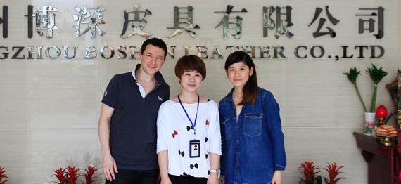 北京客户来访