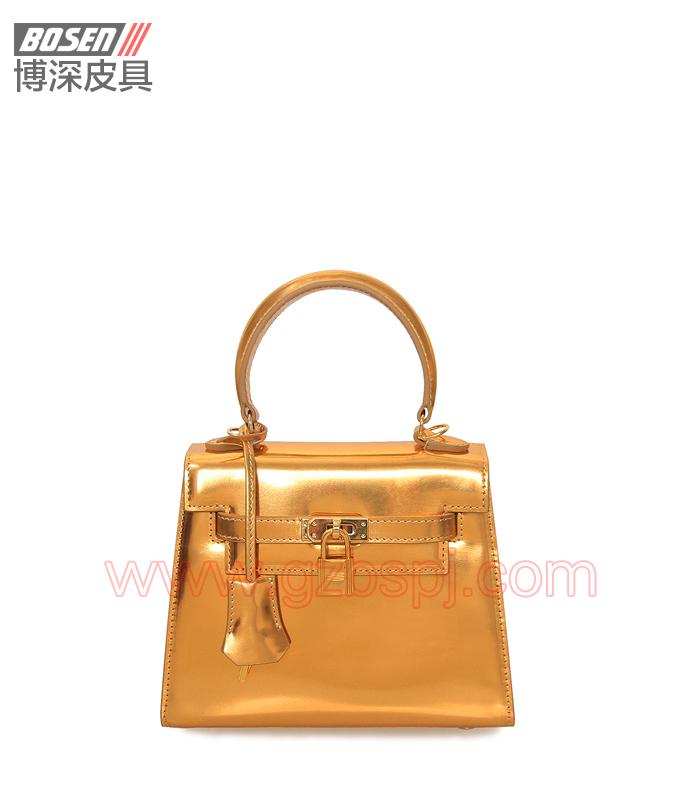 真皮女包|女士手袋|广州皮具厂|女包加工厂|真皮手袋 BSWH001012