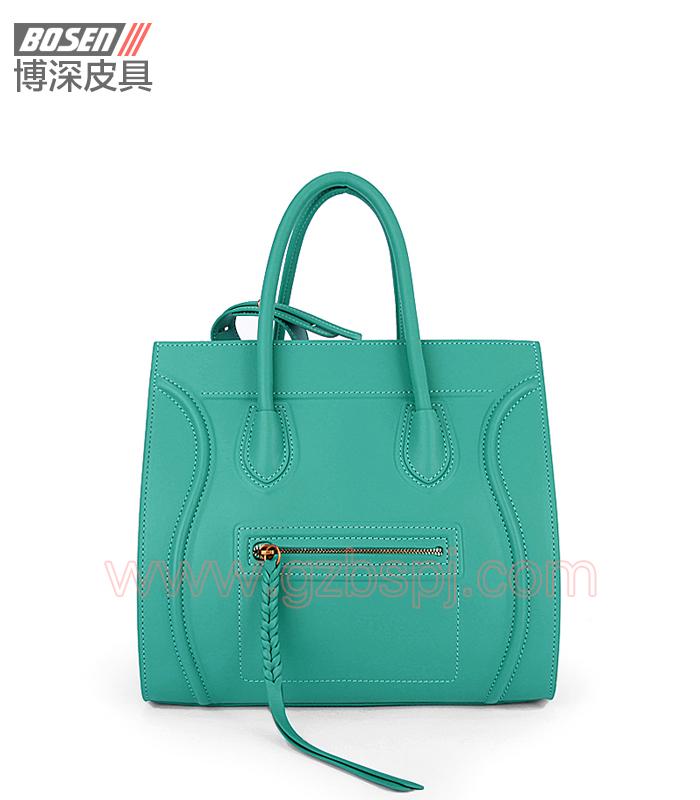 真皮女包 女士手袋 广州皮具厂 女包加工厂 真皮手袋BSWH003012