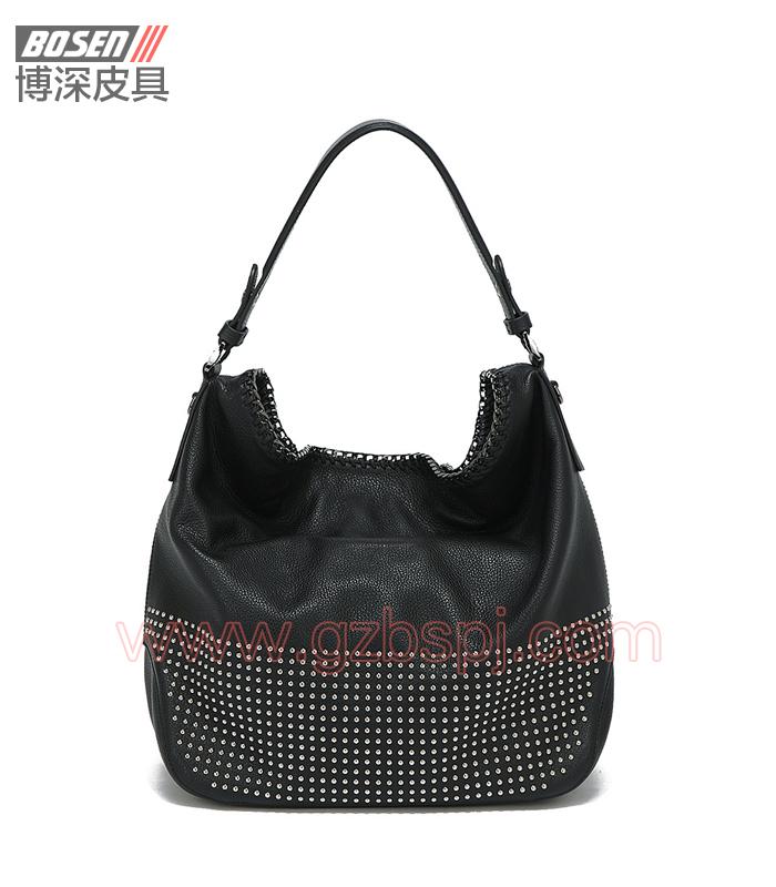 广州手袋厂高端手袋软体女士真皮女包 BSWH018001