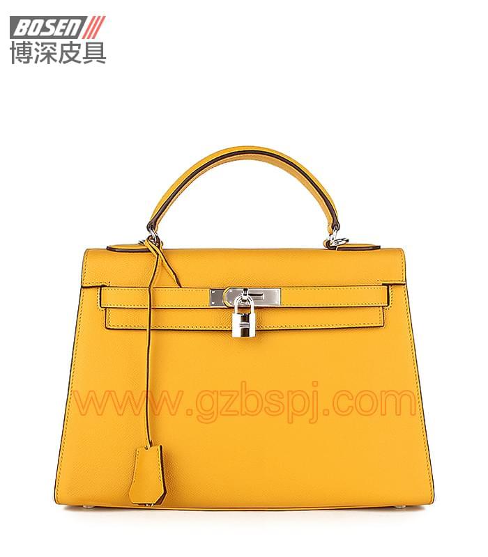 真皮女包 女士手袋 广州皮具厂 女包加工厂 真皮手袋 BSWH001005