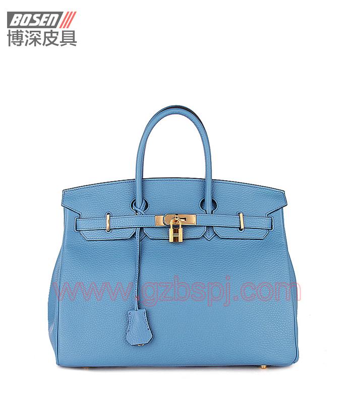 真皮女包 女士手袋 广州皮具厂 女包加工厂 真皮手袋 BSWH002002