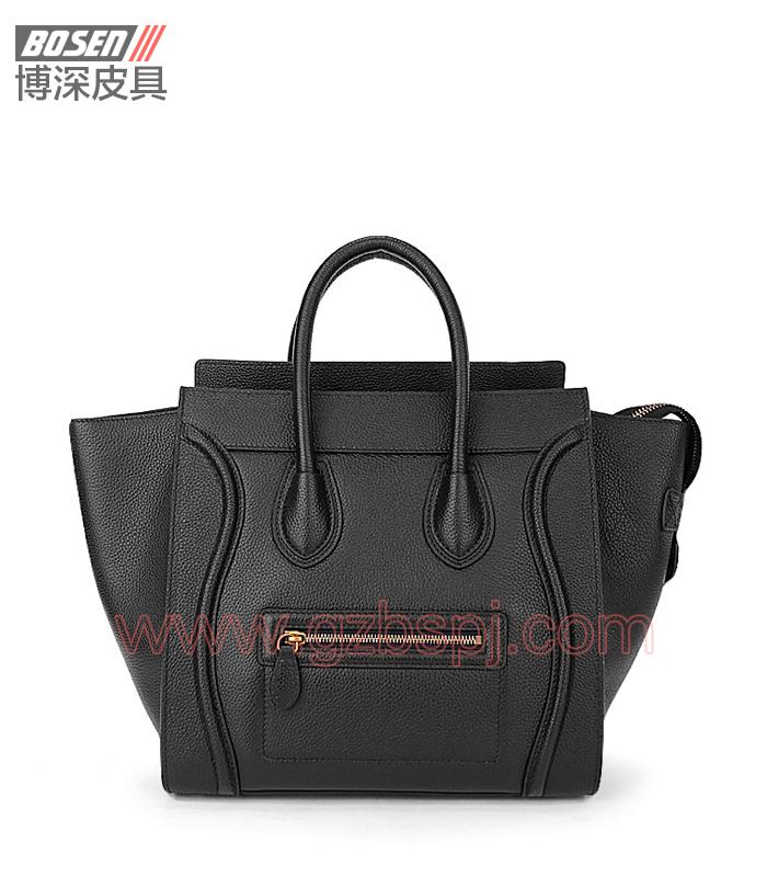 真皮女包|女士手袋|广州皮具厂|女包加工厂|真皮手袋 BSWH003005