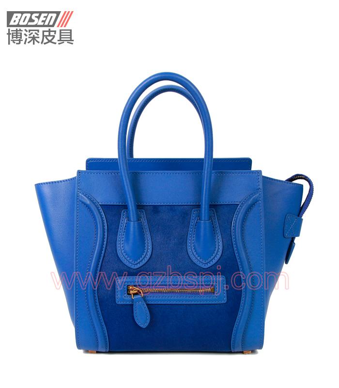 真皮女包|女士手袋|广州皮具厂|女包加工厂|真皮手袋 BSWH003003