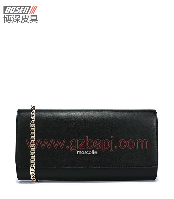 广州皮具厂|皮具加工厂|OEM|拉链包|钱包 BSWS011001