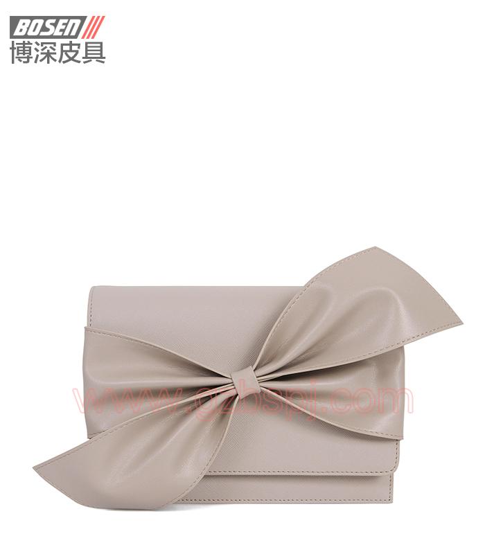 女斜挎包|女包OEM|真皮单肩包|头层牛皮|广州皮具厂 BSWS002001