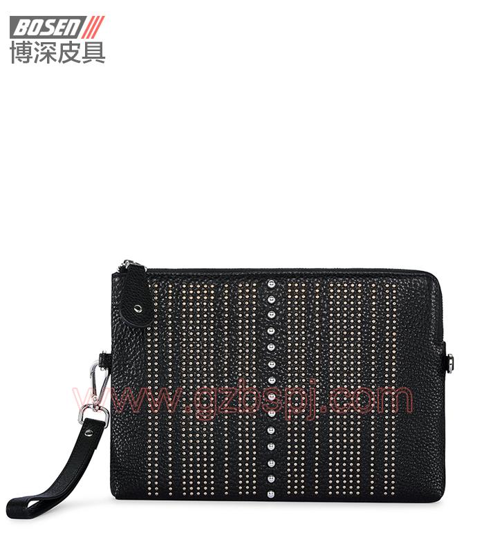 广州皮具厂|皮具加工厂|OEM|拉链包|钱包 BSWC003001