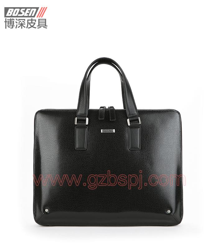广州皮具加工厂供应真皮名牌手包 BSMB020001