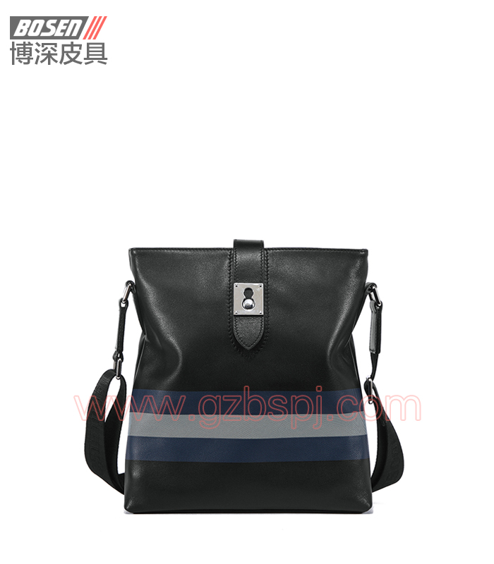 真皮男包|商务公文包|广州皮具厂|男包加工厂|真皮手袋 BSMS007001
