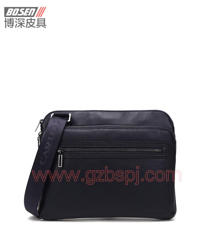 皮包加工厂新款优质牛皮公文包男士手提单肩包 BSMS010001