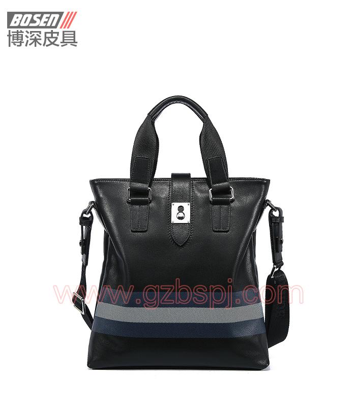 真皮男包|商务公文包|广州皮具厂|男包加工厂|真皮手袋 BSMB021002