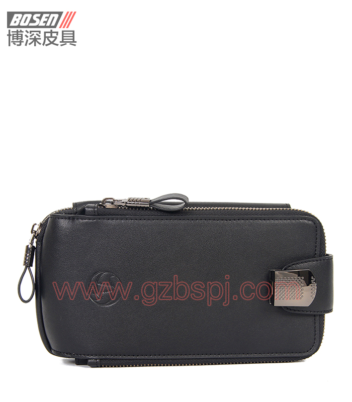 广州皮包加工厂|真皮公文包|男士手包|真皮手袋 BSMC006001
