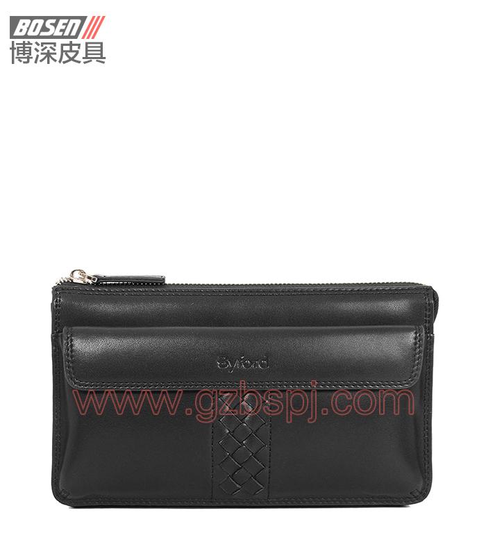 广州皮包加工厂|真皮公文包|男士手包|真皮手袋 BSMC007001