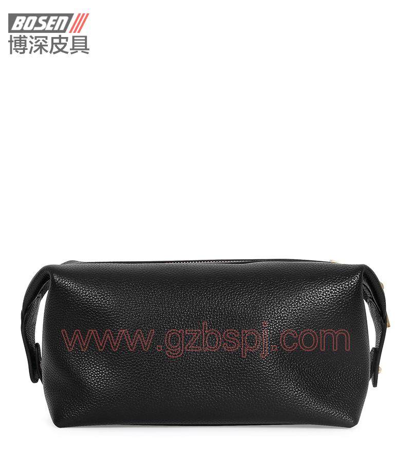 广州皮包厂 博深皮具 高端真皮工具包 饰品包 BSTB003001