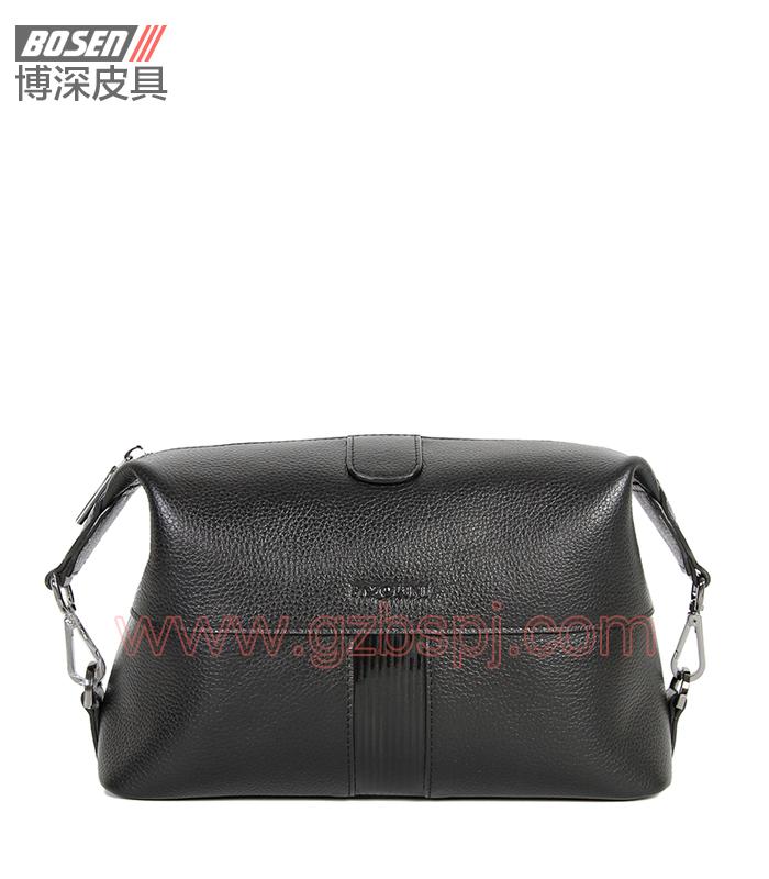 广州皮包厂 博深皮具 高端真皮工具包 饰品包 BSTB013001