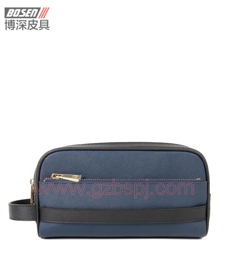 广州皮包厂 博深皮具 高端真皮工具包 饰品包 BSTB014001