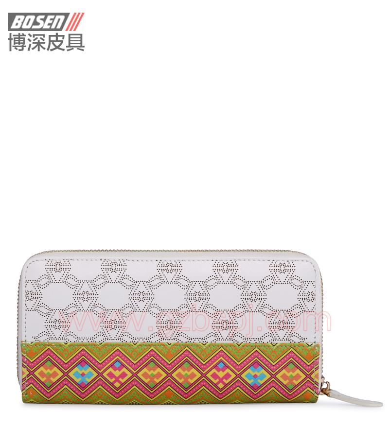 广州皮具厂|皮具加工厂|OEM|拉链包|钱包 BSLW003003