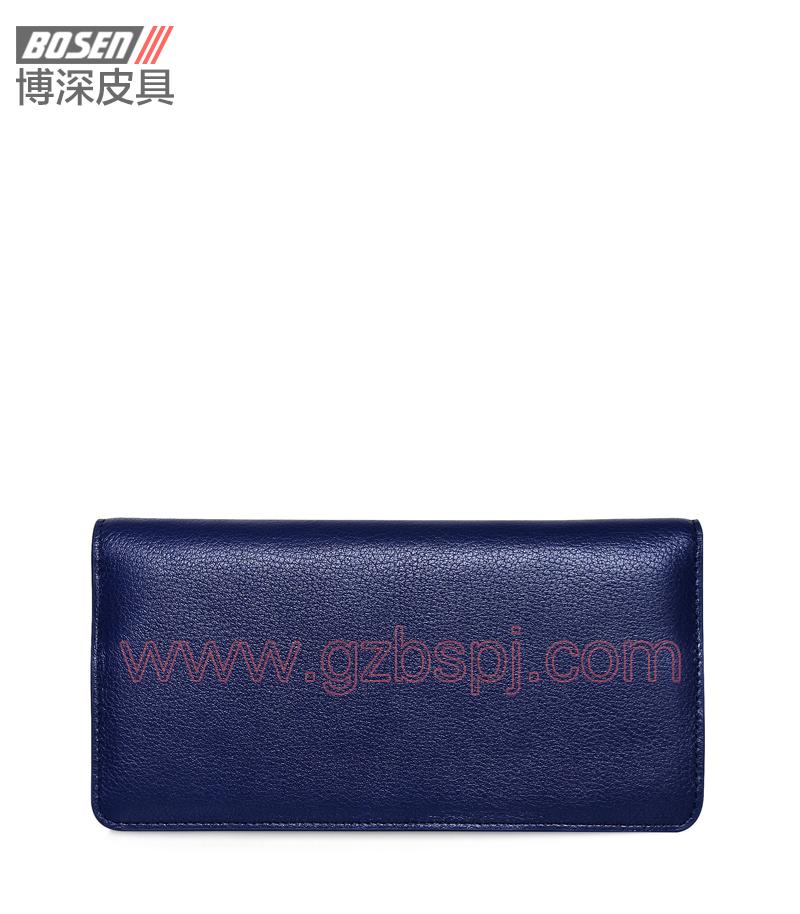 广州皮具厂|皮具加工厂|OEM|拉链包|钱包 BSLW007001