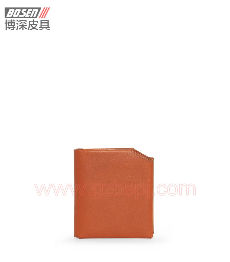 广州皮具厂|皮具加工厂|OEM|拉链包|钱包 BSLW009001