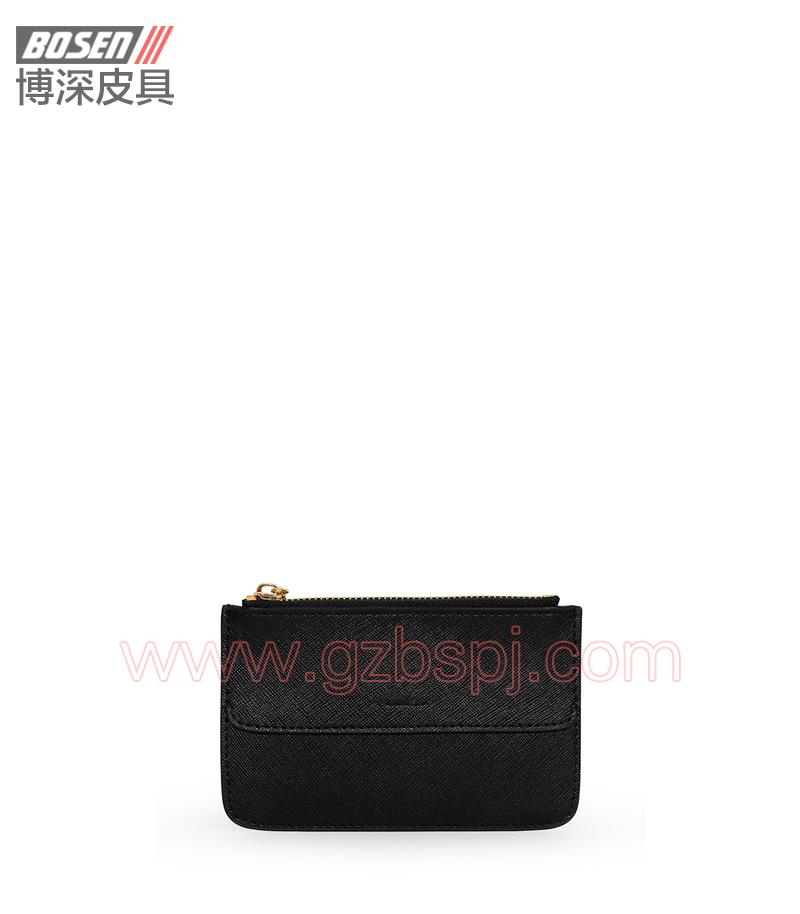 广州皮具厂|皮具加工厂|OEM|拉链包|钱包 BSLW012002