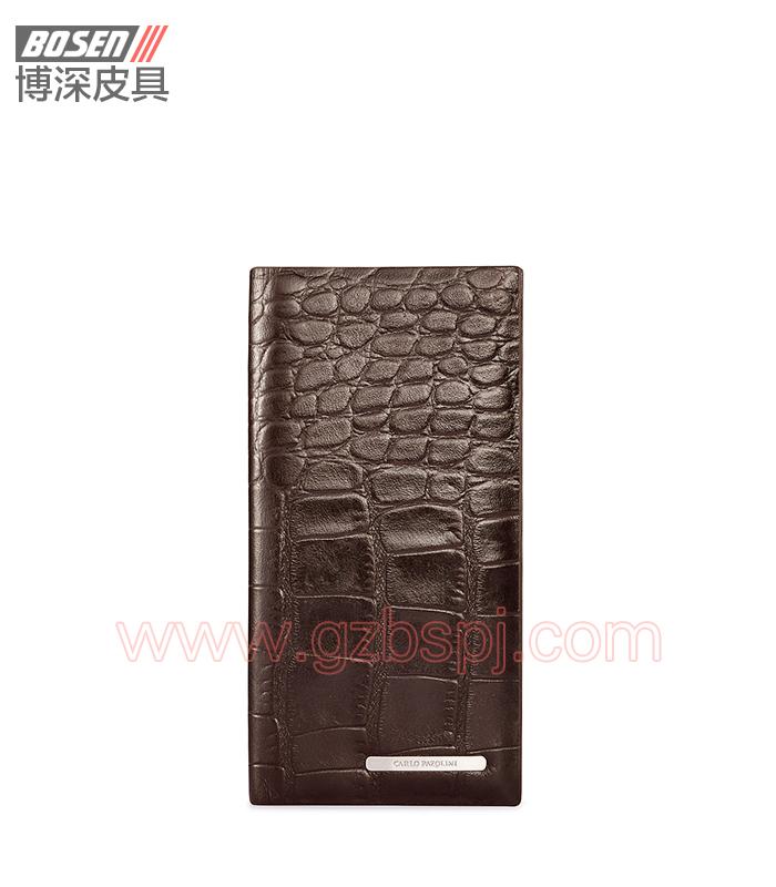 钱包加工厂家最新西装包男士钱包真皮男钱包 BSLW018001
