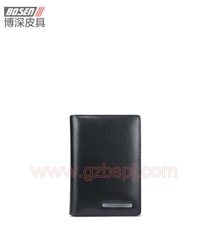广州钱包厂真皮男士钱包护照夹 BSLW017001