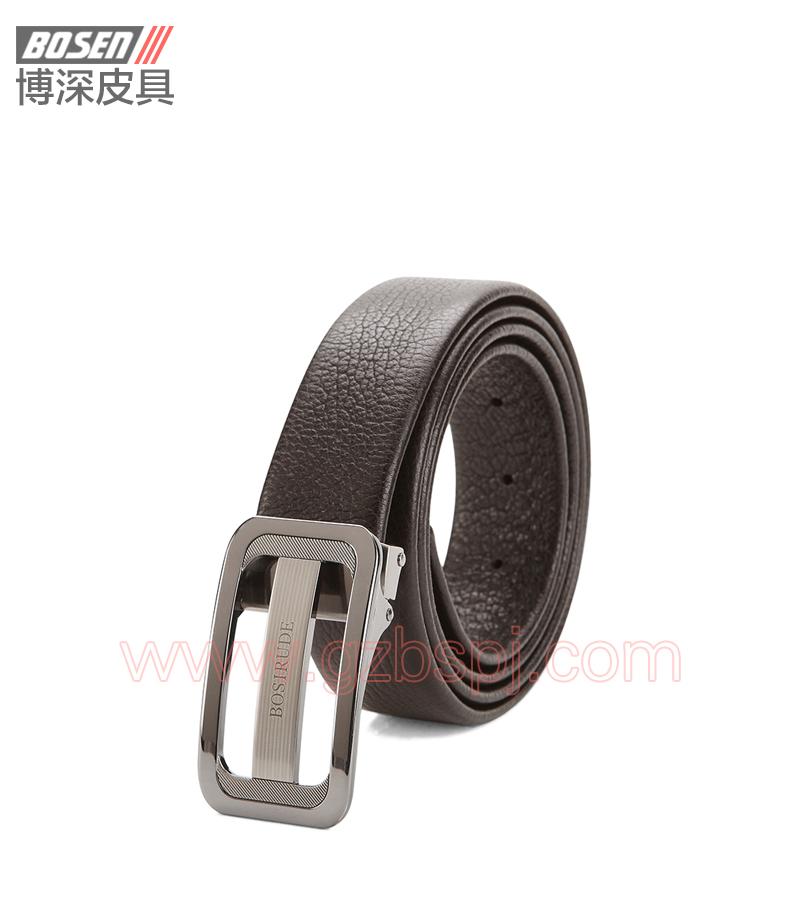 真皮皮带|皮带|广州皮具厂|皮带加工厂|男士皮带 BSLB007001