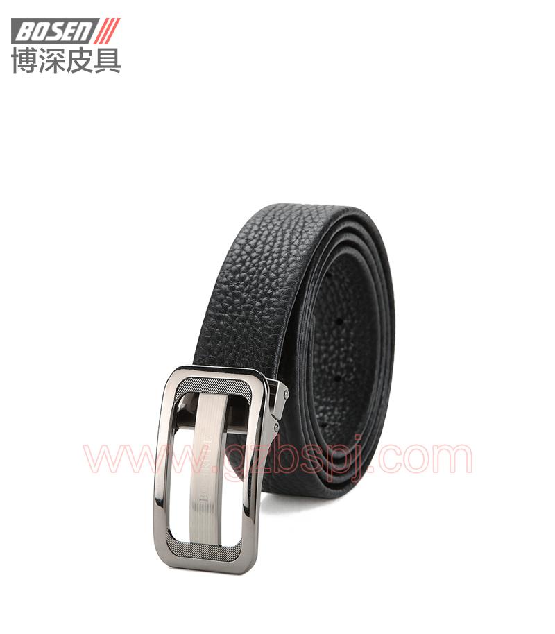 真皮皮带|皮带|广州皮具厂|皮带加工厂|男士皮带 BSLB007004