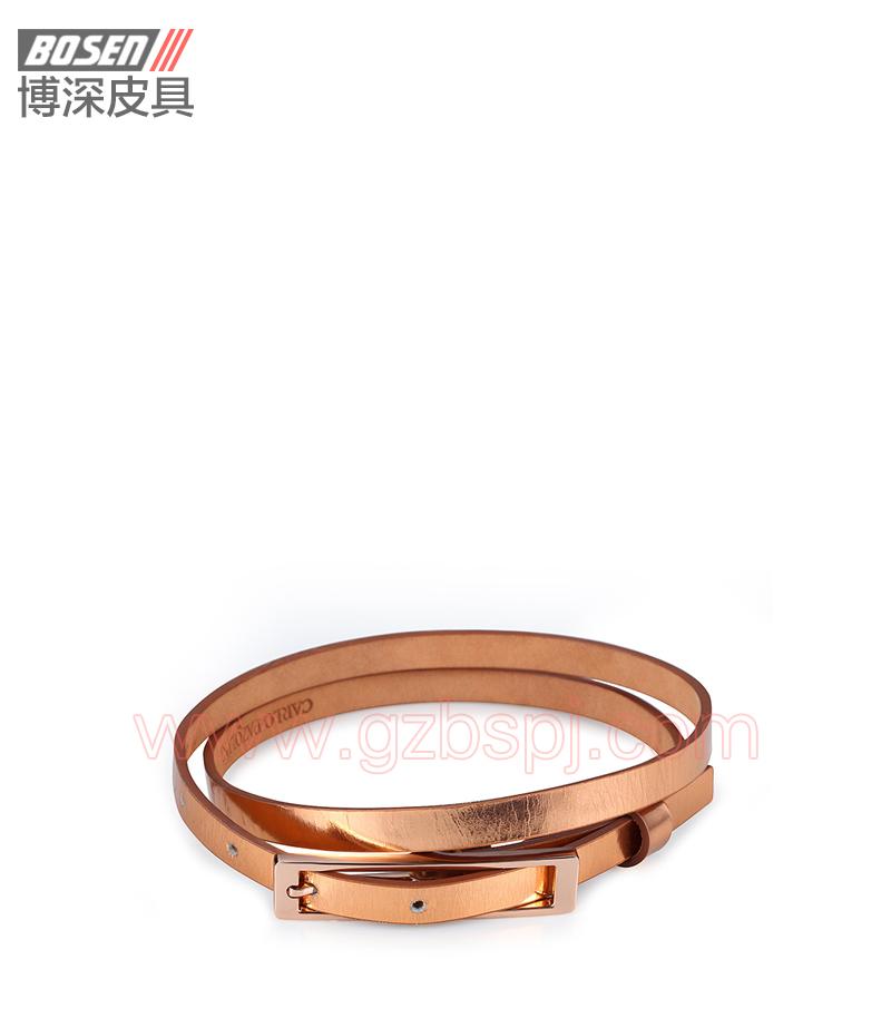 真皮皮带 皮带 广州皮具厂 皮带加工厂 女士皮带 BSLB001001