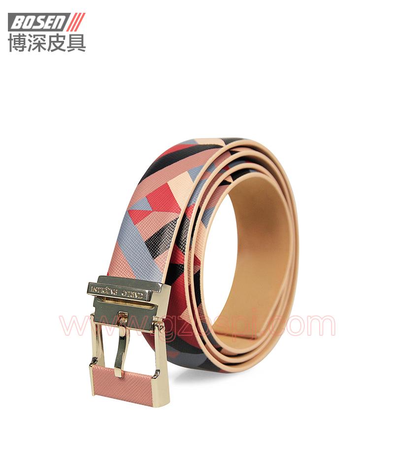 真皮皮带|皮带|广州皮具厂|皮带加工厂|女士皮带 BSLB003005