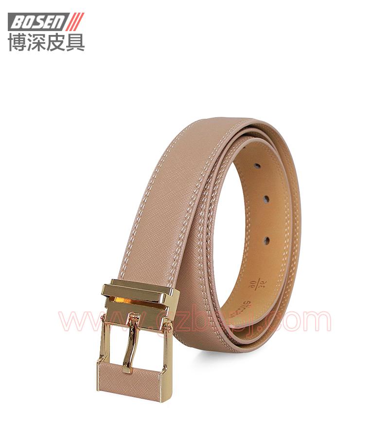 真皮皮带 皮带 广州皮具厂 皮带加工厂 女士皮带 BSLB003007